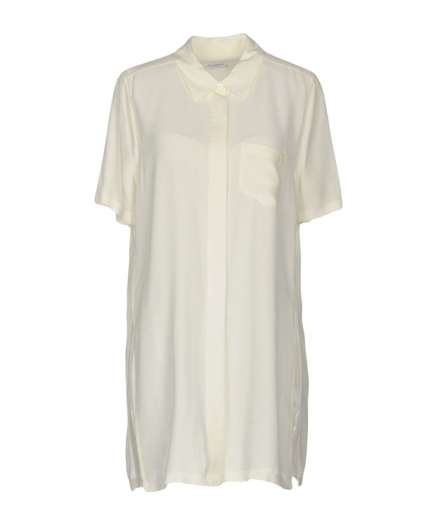 Image for Equipment Ivory Silk Shirt