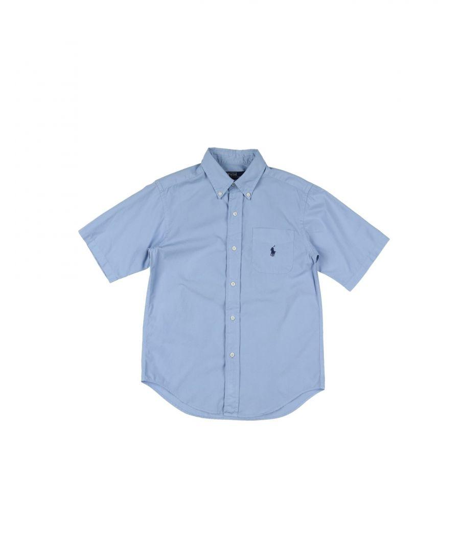 Image for SHIRTS Ralph Lauren Sky blue Boy Cotton