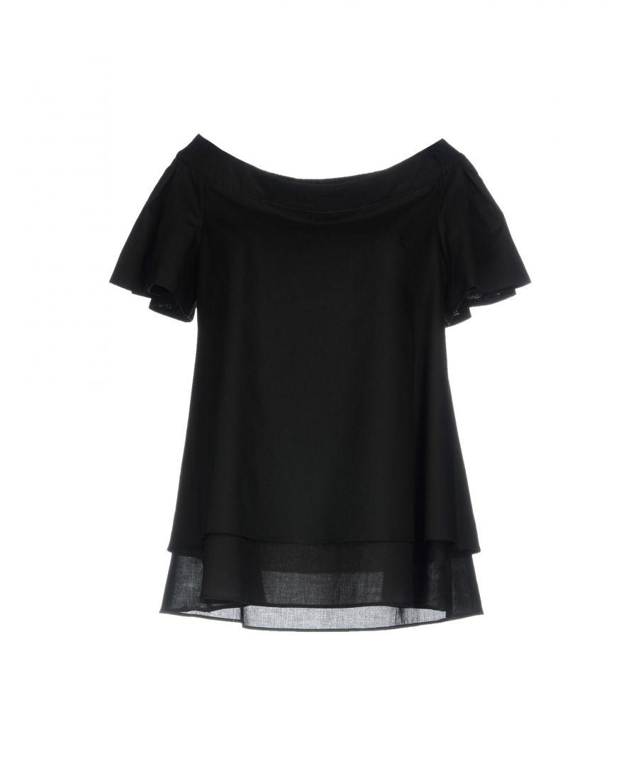 Image for Maison Laviniaturra Black Cotton Blouse