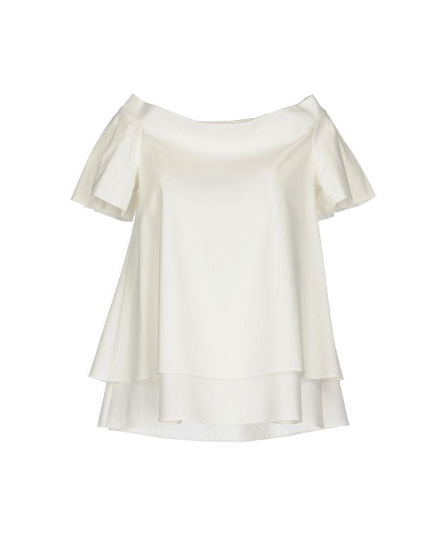 Image for Maison Laviniaturra White Cotton Blouse
