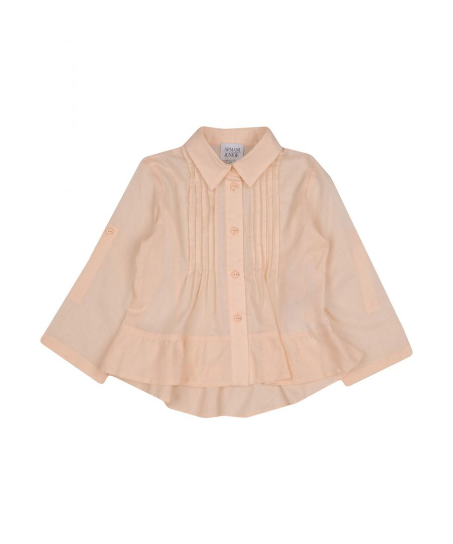 Image for SHIRTS Armani Junior Apricot Girl Cotton