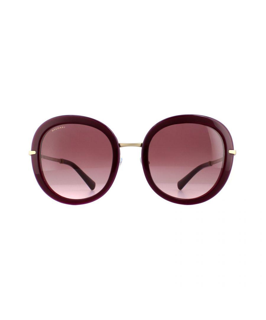Image for Bvlgari Sunglasses 8196B 54268H Violet Violet Gradient