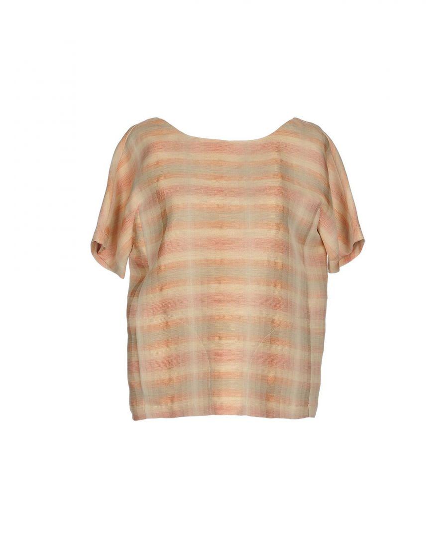 Image for Tonello Sand Stripe Crepe Blouse