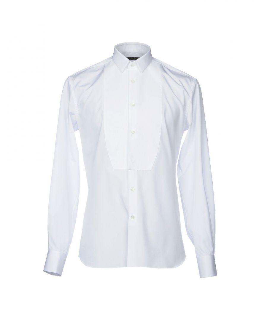 Image for Roberto Cavalli White Cotton Shirt
