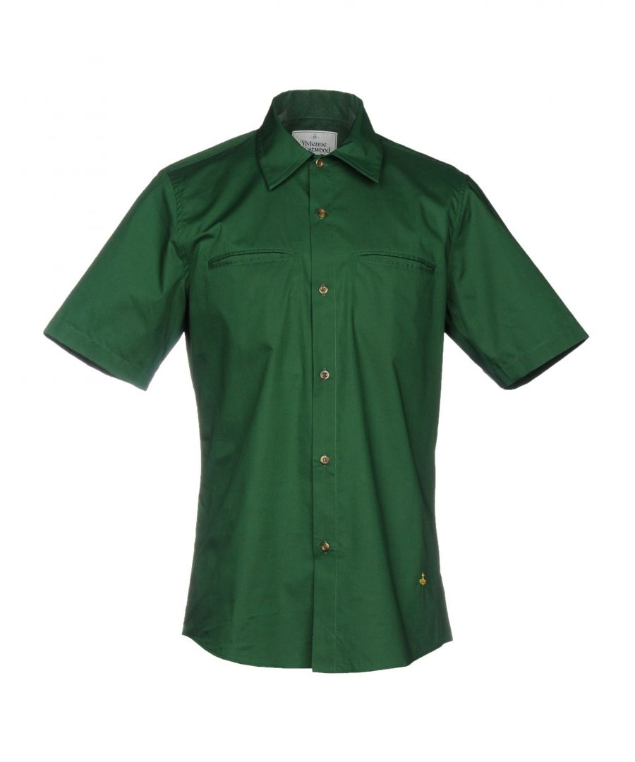 Image for SHIRTS Vivienne Westwood Man Dark green Man Cotton