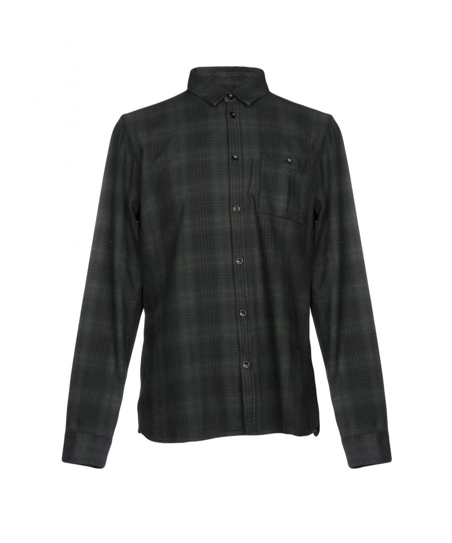 Image for Whistles Dark Green Plaid Cotton Shirt