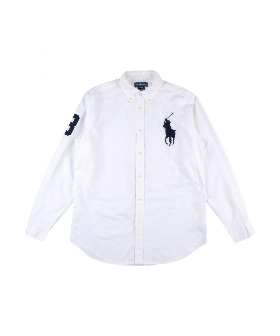 Image for SHIRTS Ralph Lauren White Boy Cotton