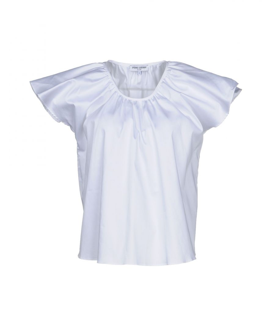 Image for Opening Ceremony White Cotton Bluse