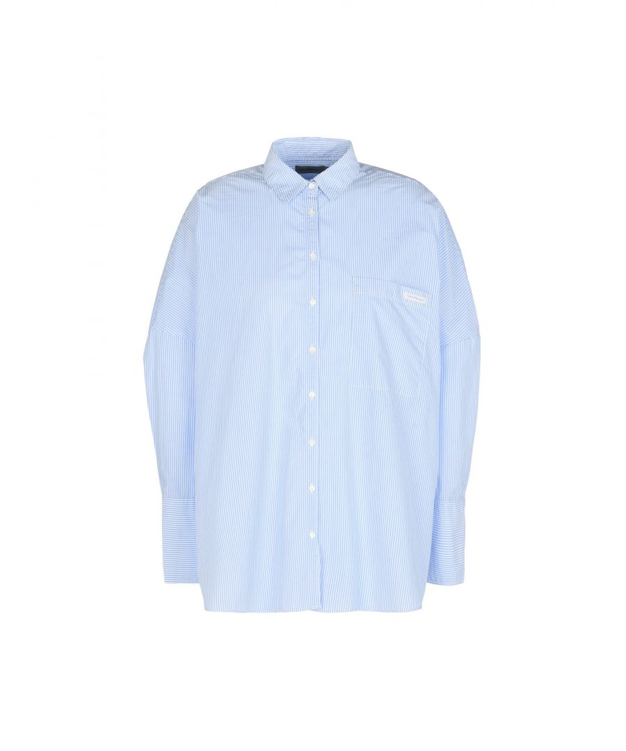 Image for Calvin Klein Jeans Sky Blue Cotton Shirt