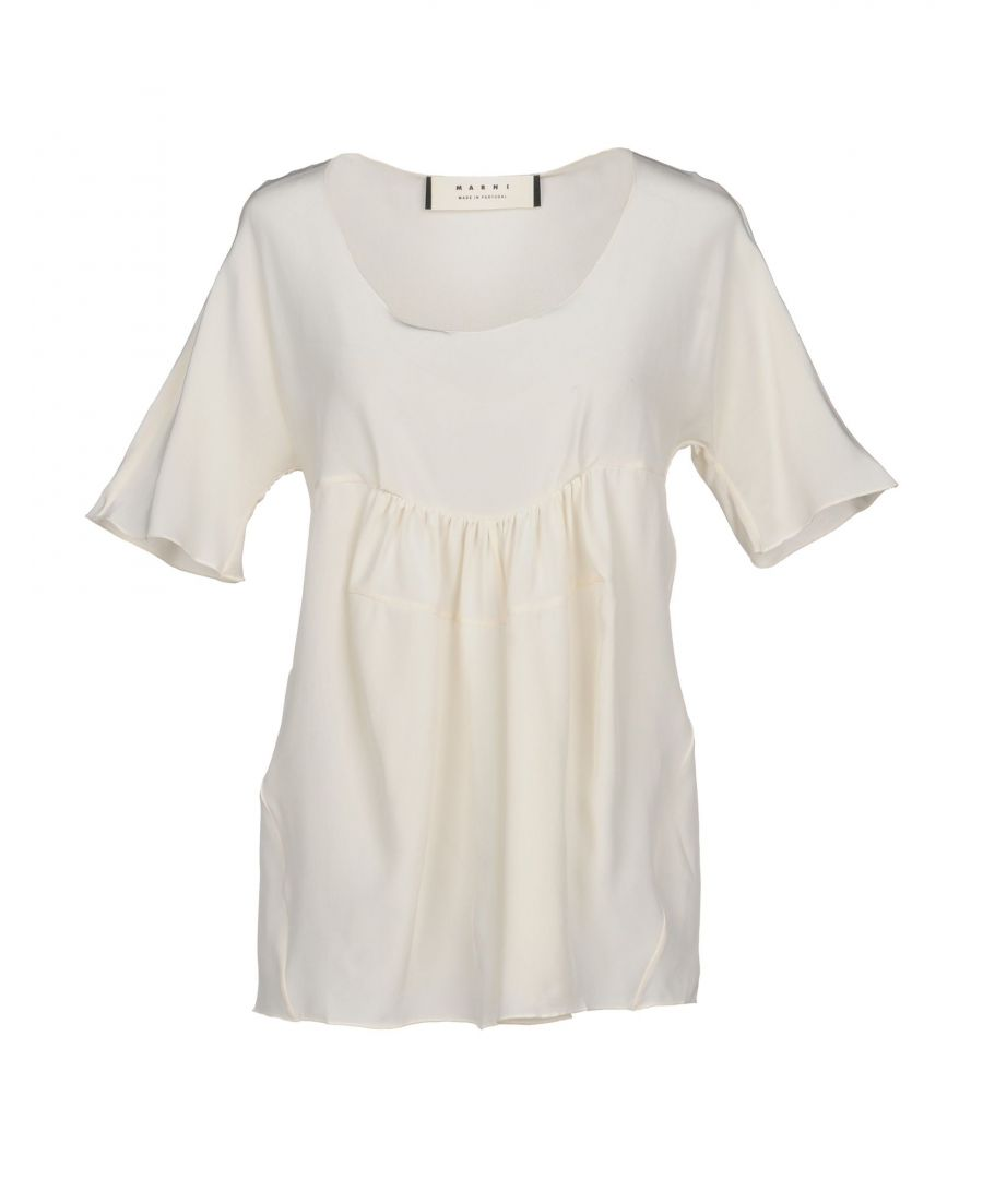 Image for Marni Ivory Silk Blouse