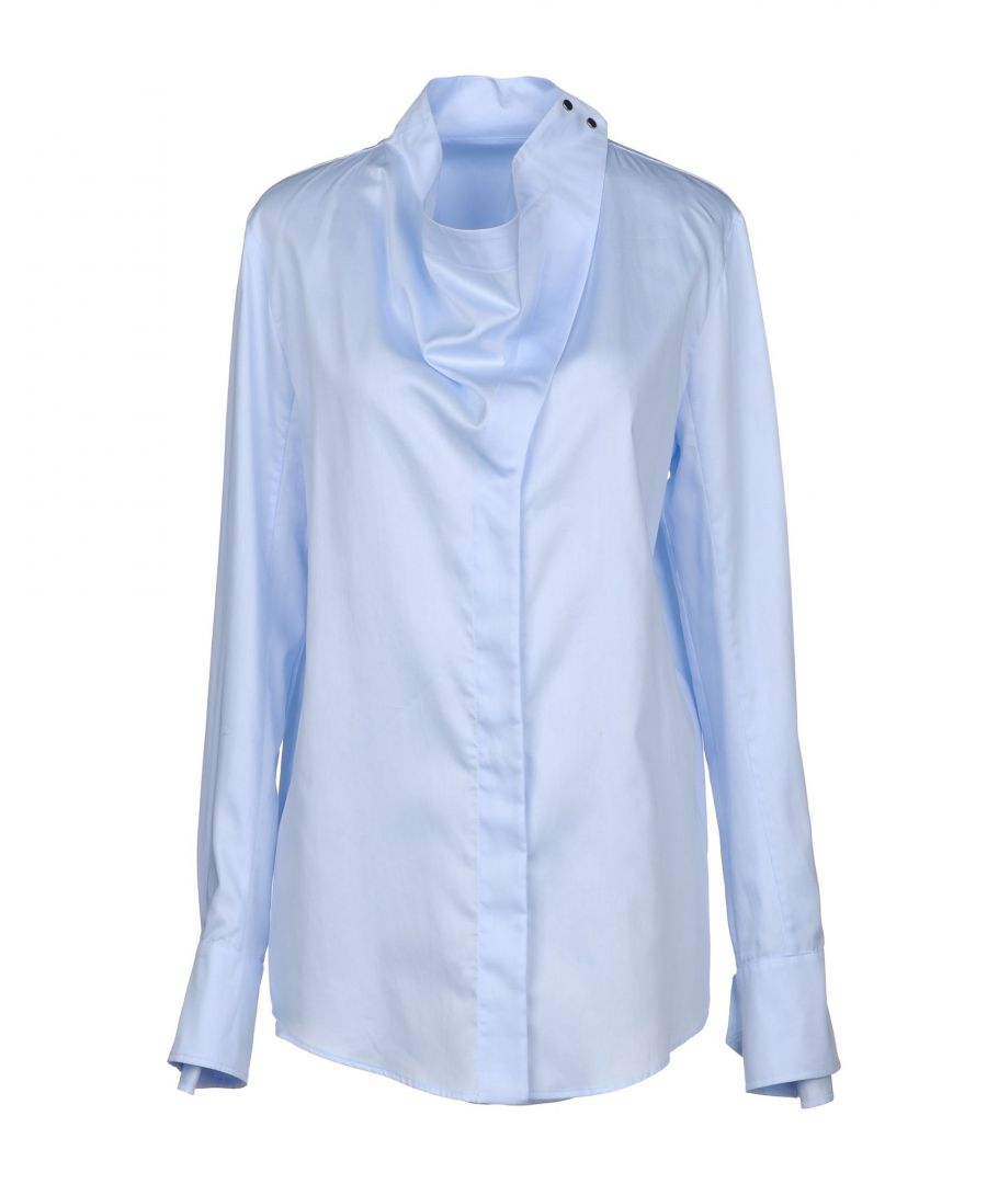Image for SHIRTS Stella Mccartney Sky blue Woman Cotton