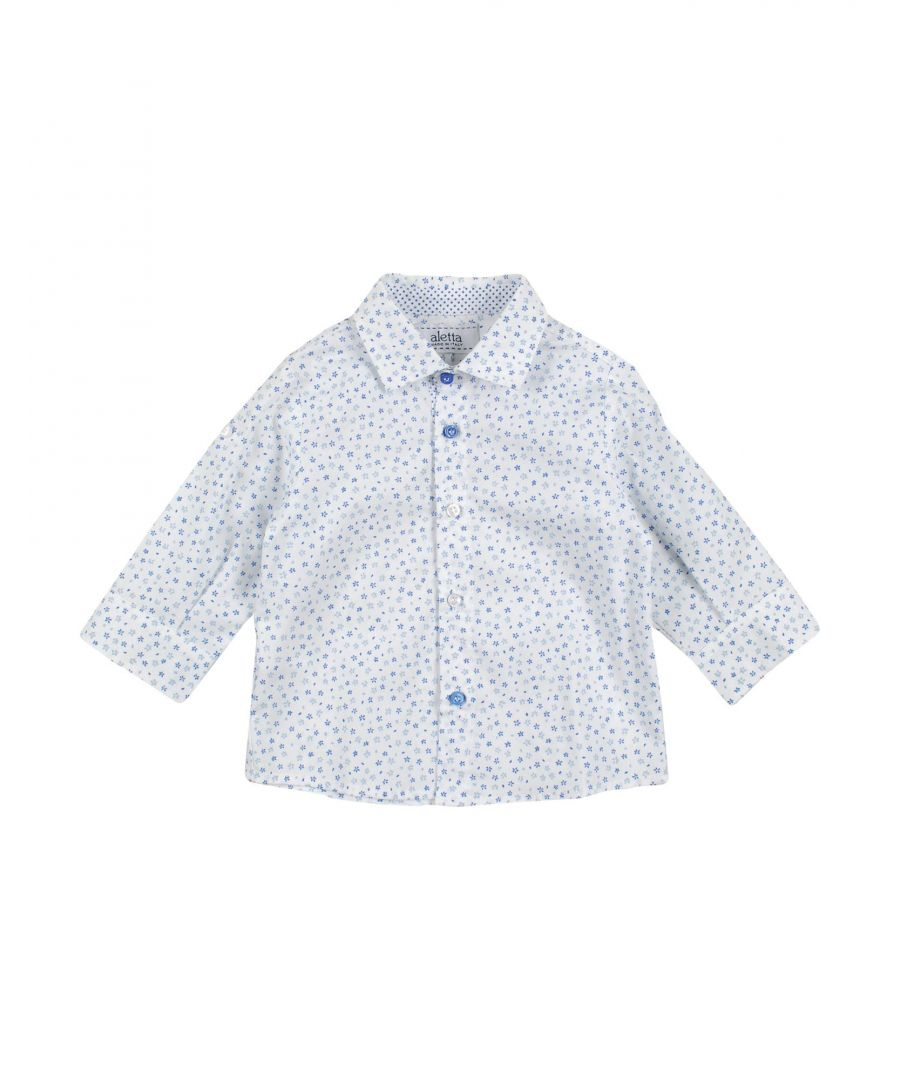 Image for SHIRTS Aletta White Boy Cotton