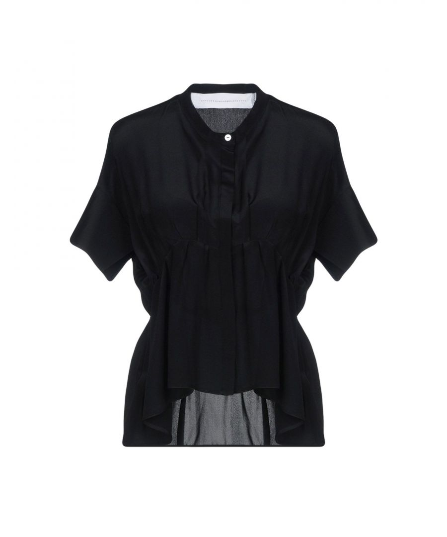 Image for Victoria Beckham Black Silk Blouse