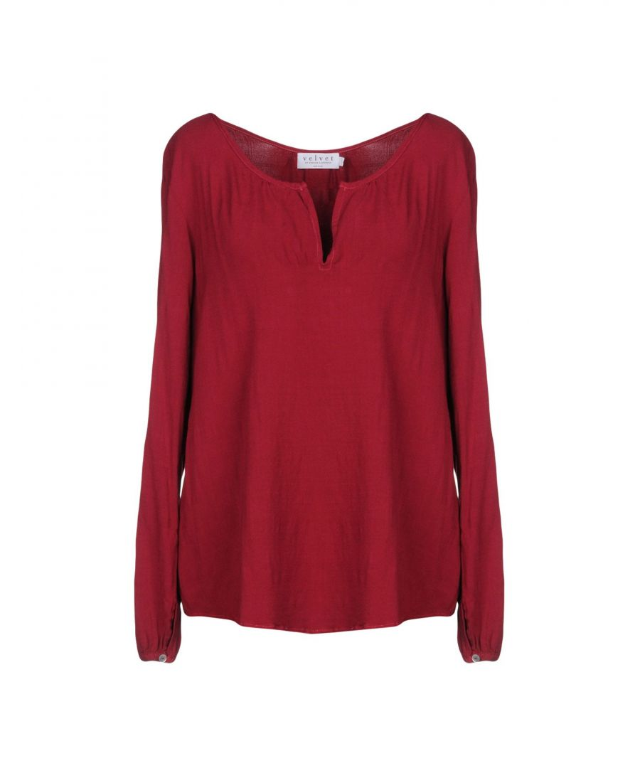 Image for Velvet By Graham & Spencer Garnet Blouse