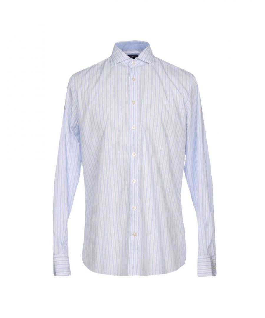 Image for SHIRTS Hackett Sky blue Man Cotton