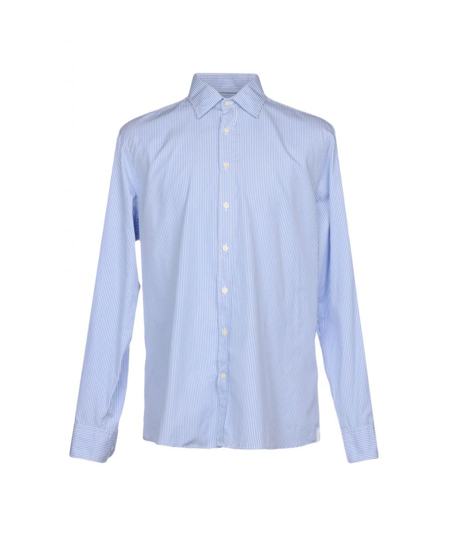 Image for SHIRTS Hackett Sky blue Man Cotton