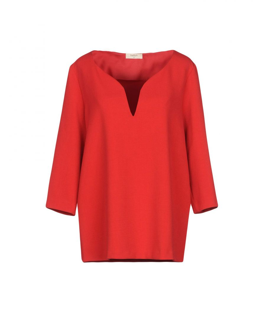 Image for SHIRTS Ba&Sh Red Woman Polyester