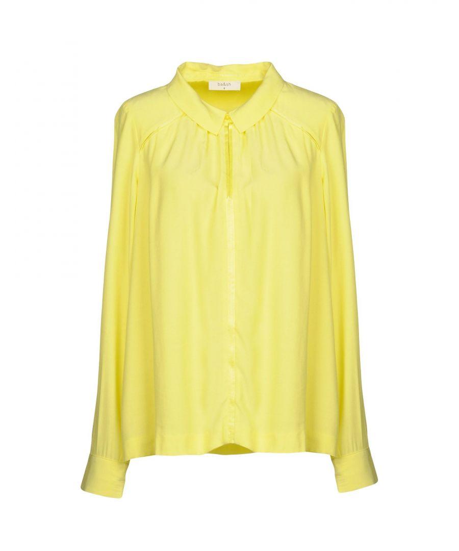 Image for SHIRTS Ba&Sh Yellow Woman Viscose