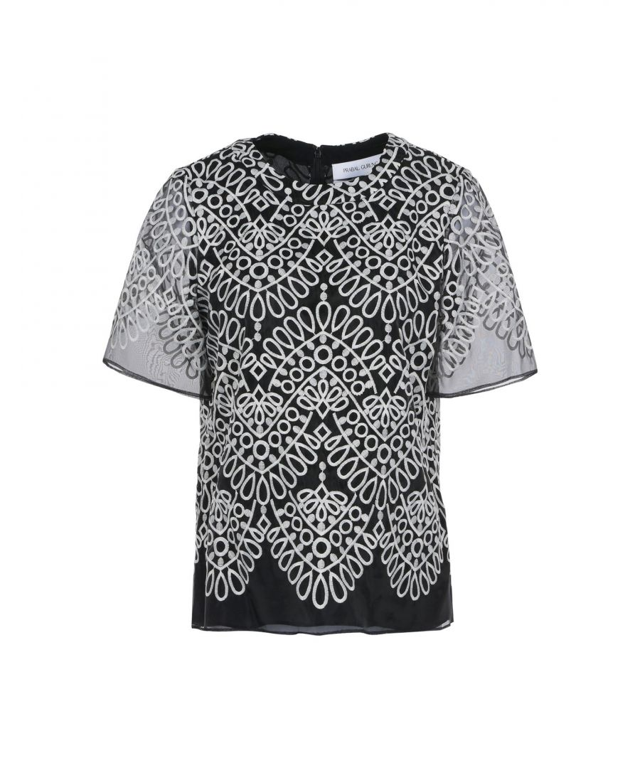 Image for Prabal Gurung Black Polyester Bluse