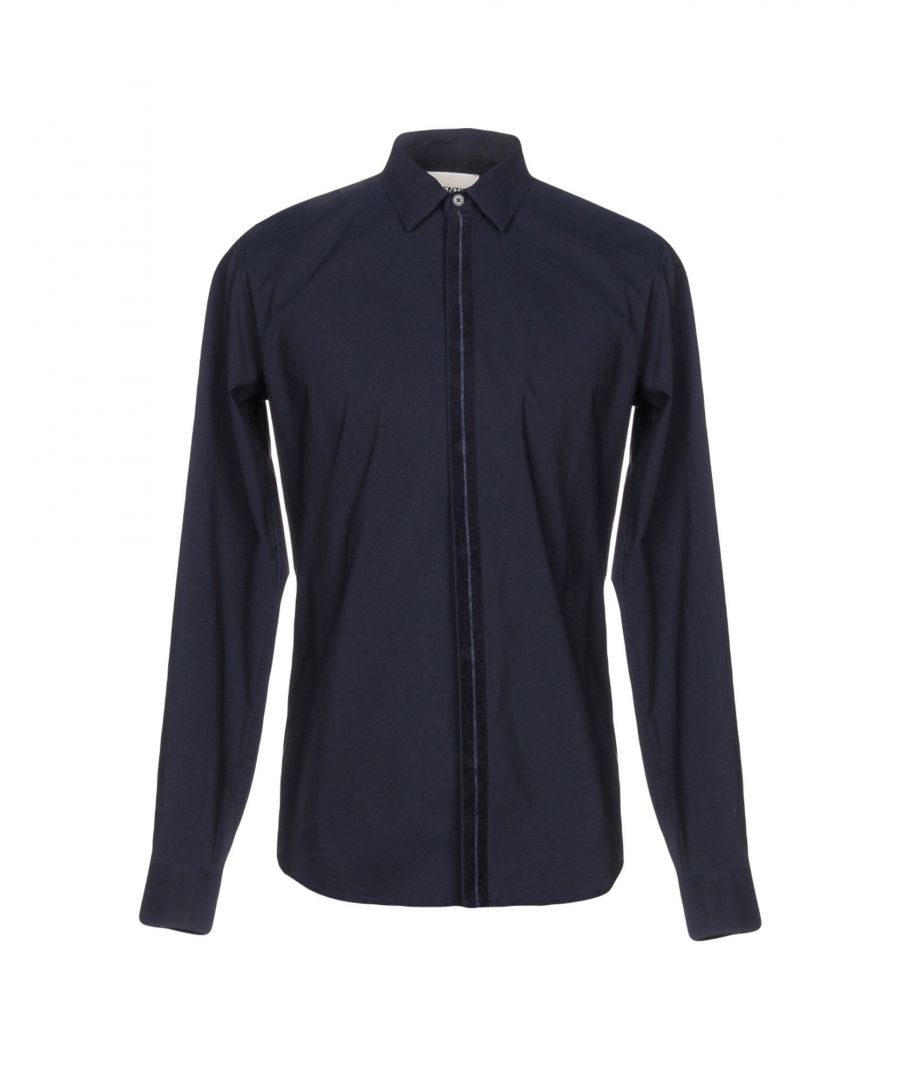 Image for Essentiel Antwerp Dark Blue Cotton Shirt