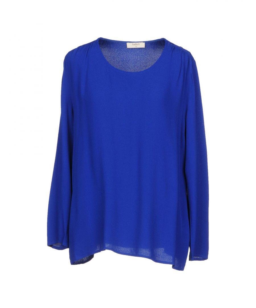 Image for SHIRTS Ba&Sh Bright blue Woman Viscose