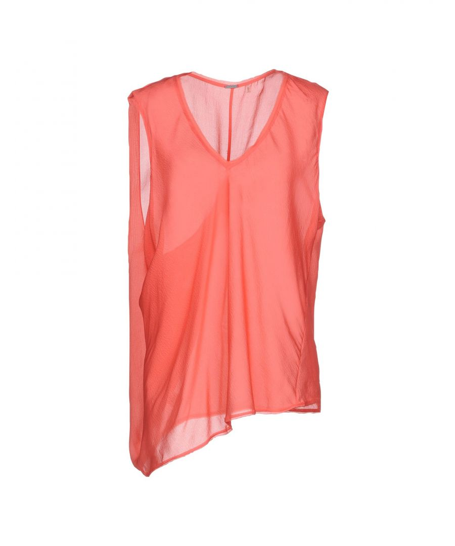 Image for TOPWEAR Elie Tahari Coral Woman Silk