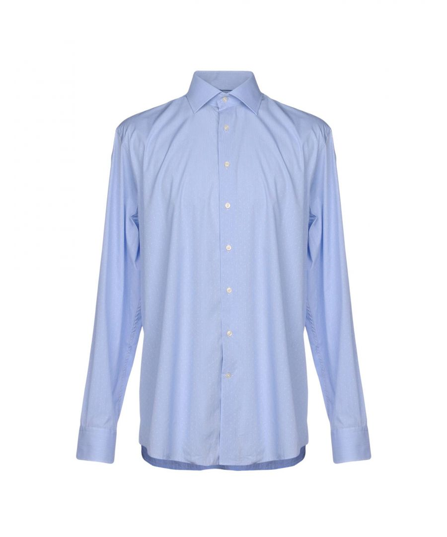 Image for SHIRTS Hackett Blue Man Cotton