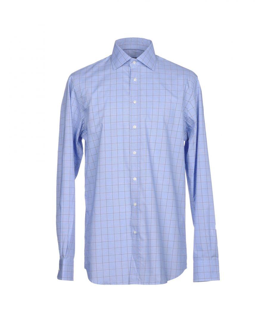 Image for Hackett London Sky Blue Cotton Shirt