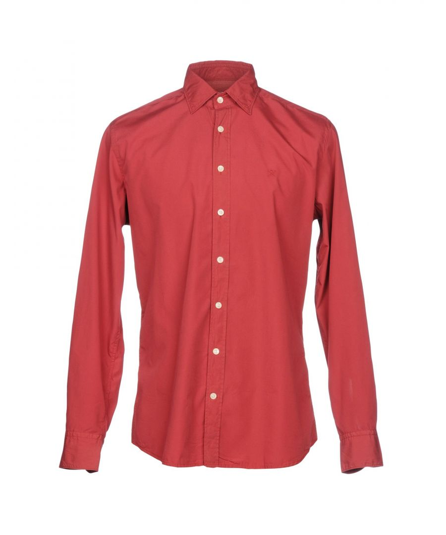 Image for SHIRTS Hackett Brick red Man Cotton