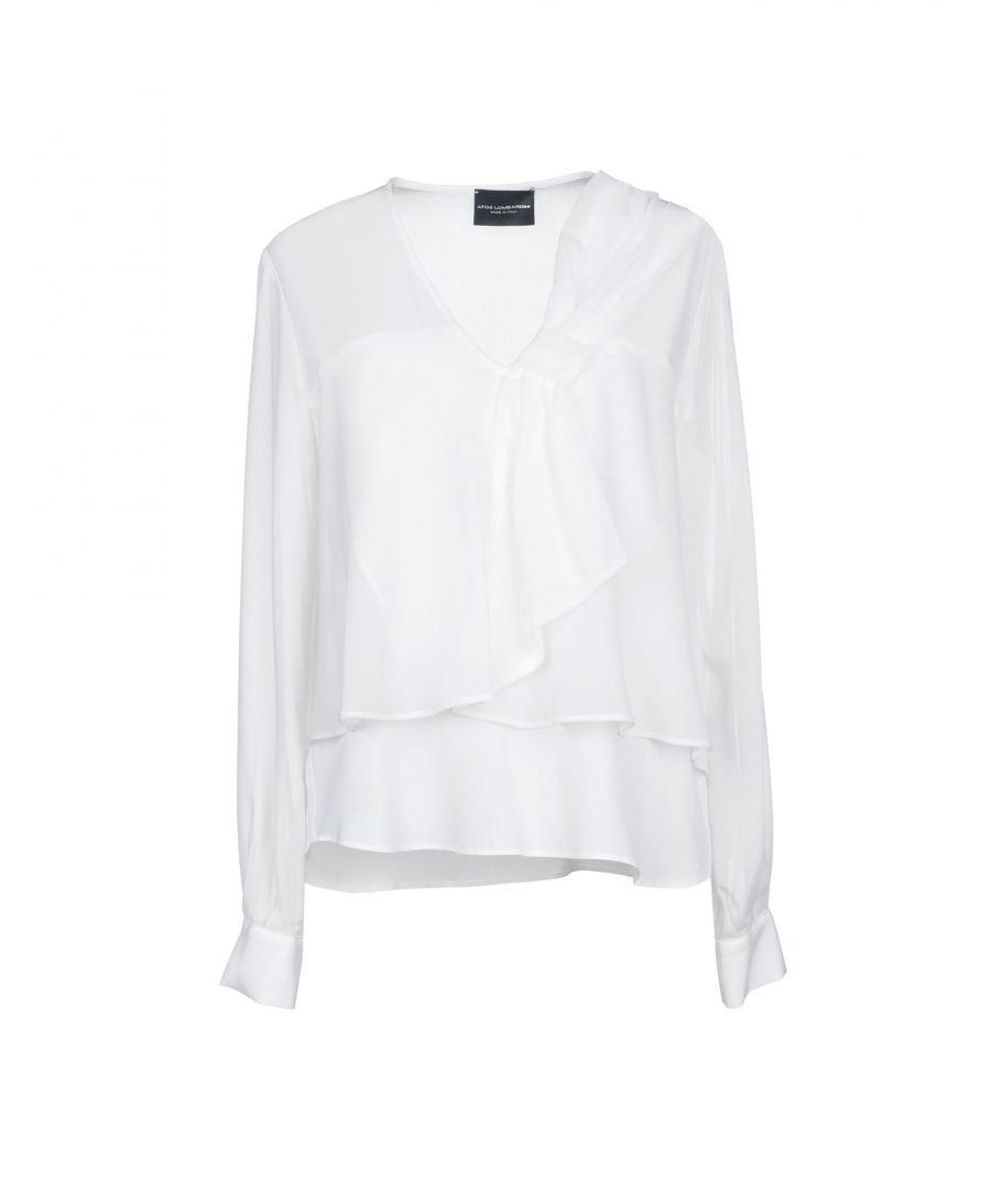 Image for Atos Lombardini White Crepe Shirt