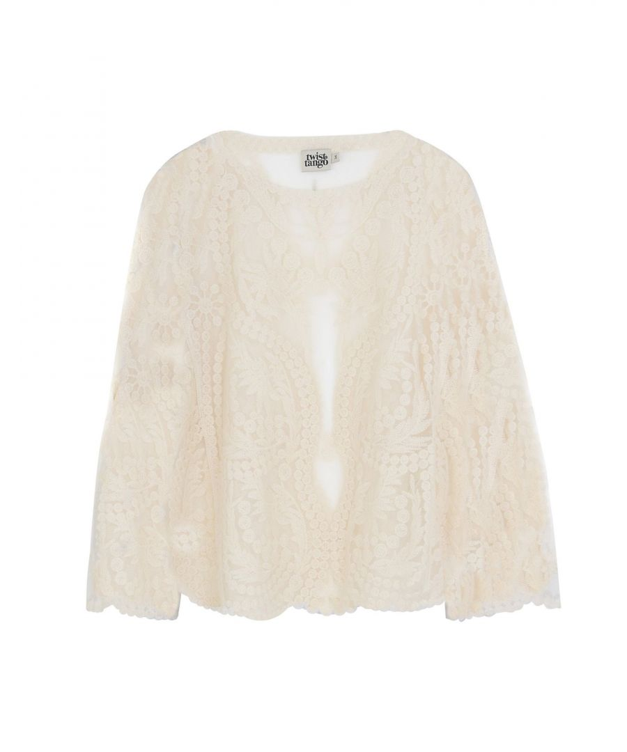Image for Twist & Tango Ivory Lace Blouse