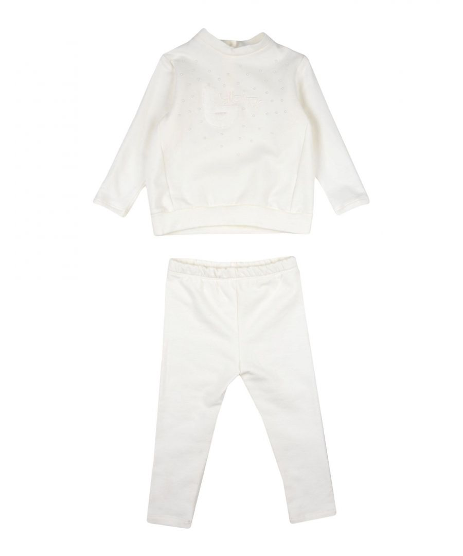 Image for BODYSUITS & SETS Girl Byblos Ivory Cotton