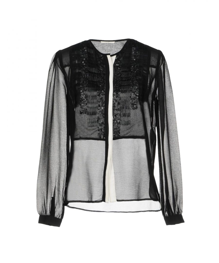 Image for Gas Black Crepe Blouse