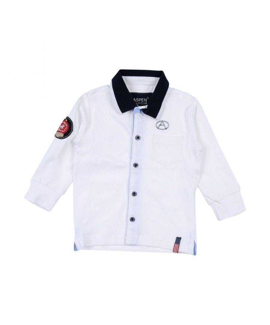 Image for Aspen Polo Club Boys' Shirts White Cotton