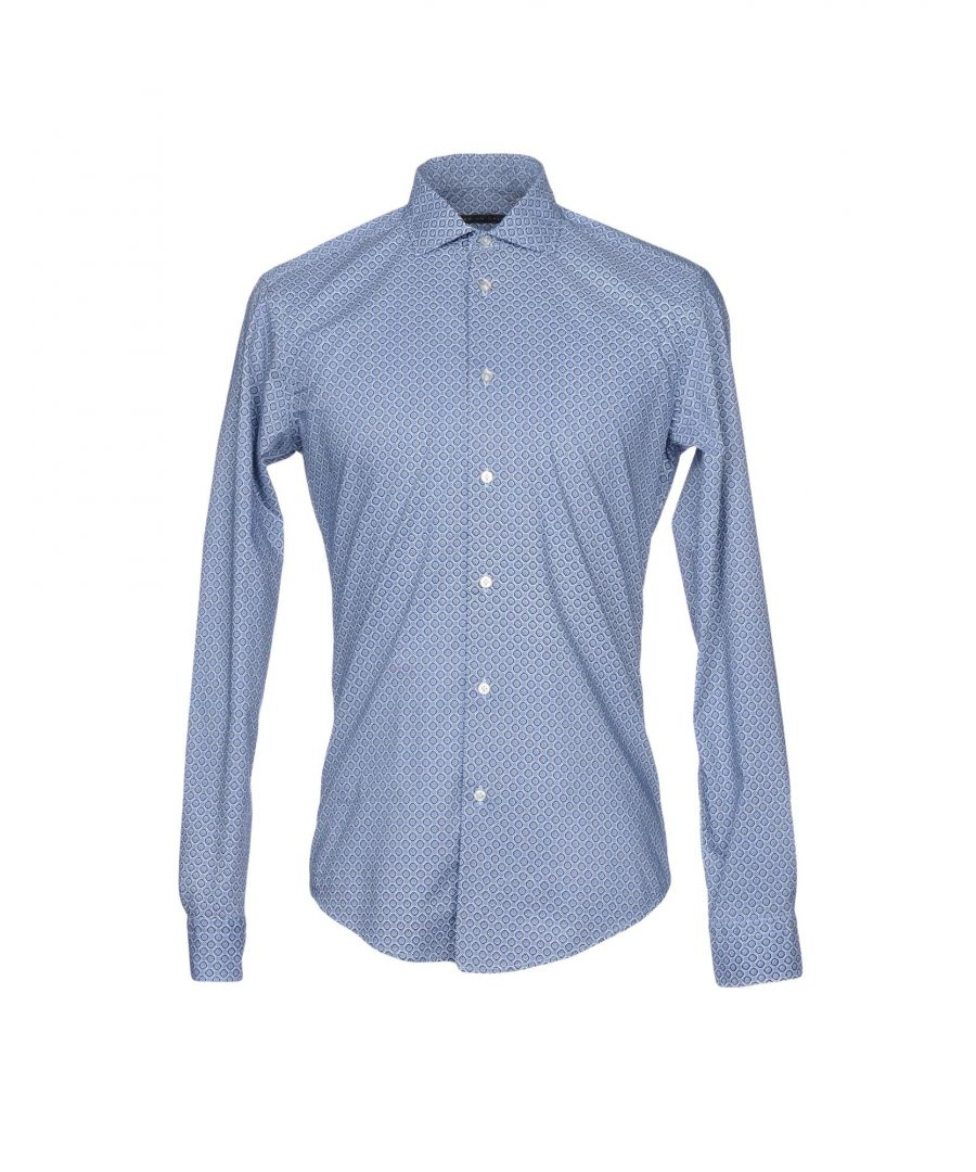 Image for Brian Dales Azure Cotton Shirt