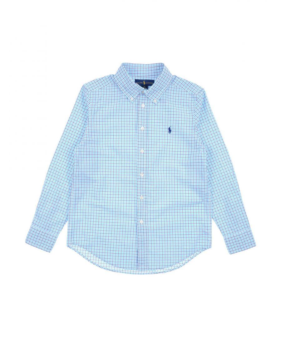 Image for SHIRTS Boy Ralph Lauren Turquoise Cotton