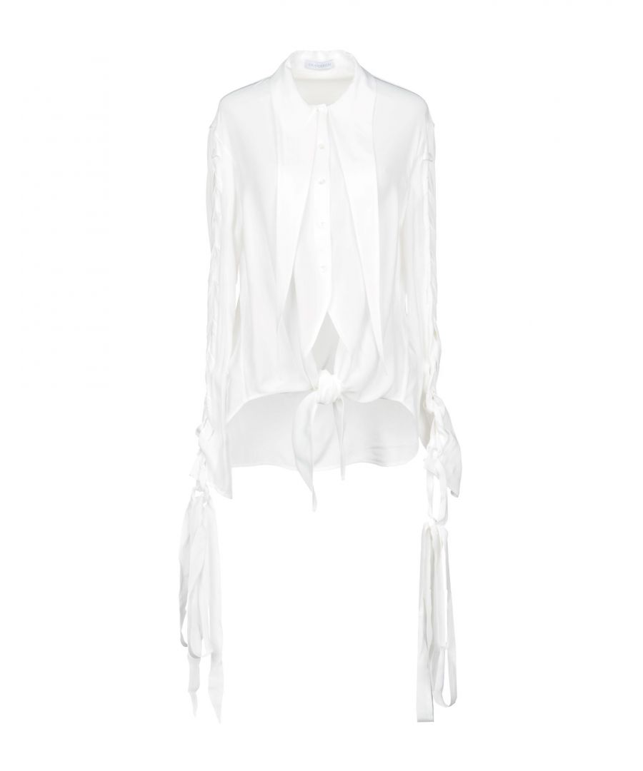 Image for JW Anderson White Crepe Shirt