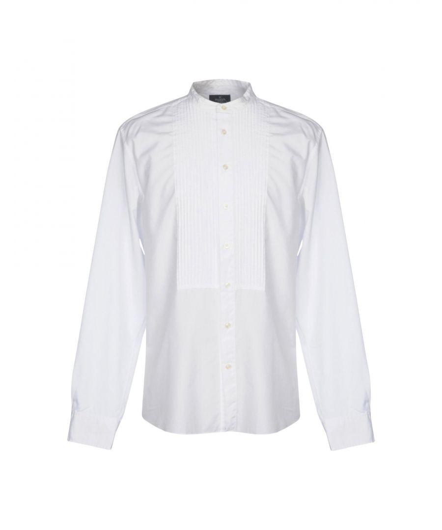 Image for Hackett White Cotton Shirt