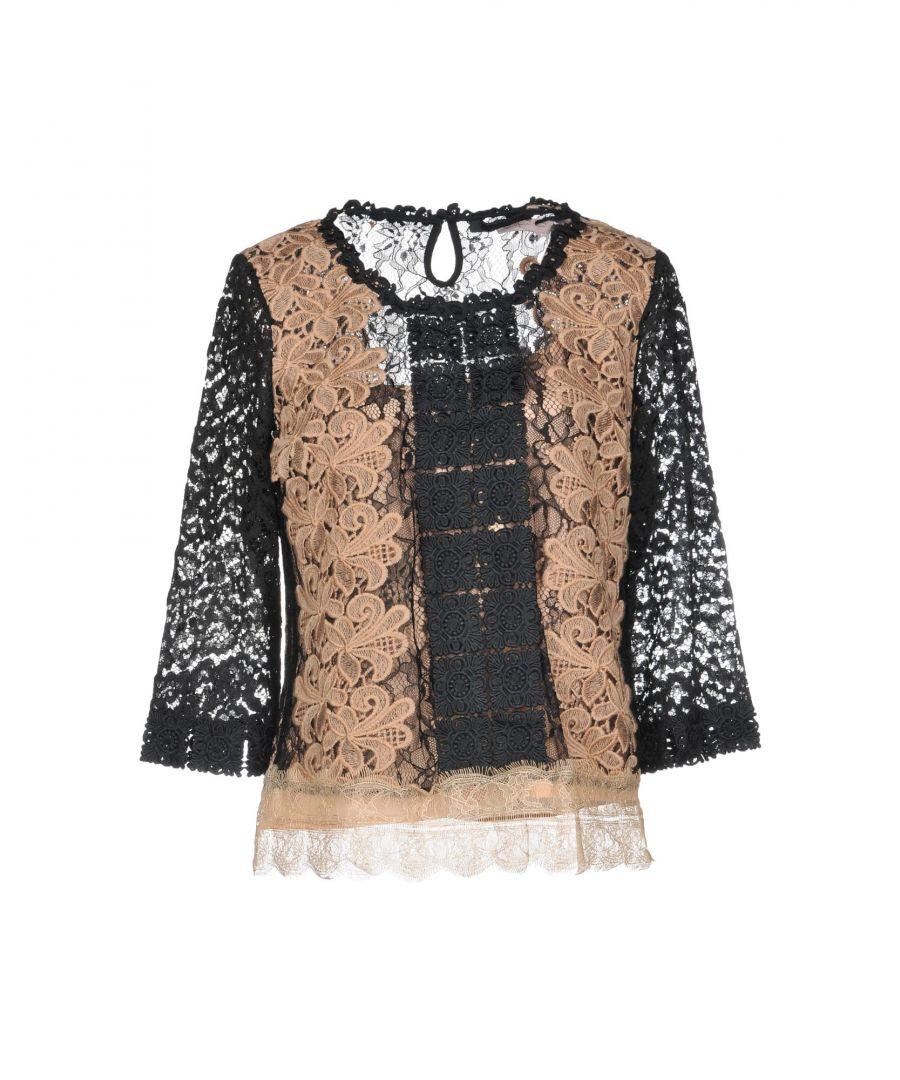 Image for Nenette Woman Blouses Khaki Nylon