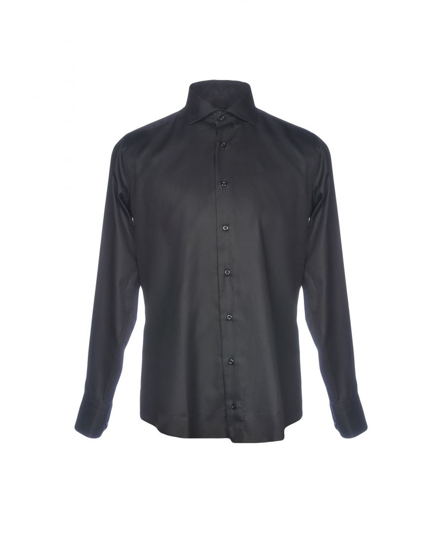 Image for Hamaki-Ho Black Cotton Shirt