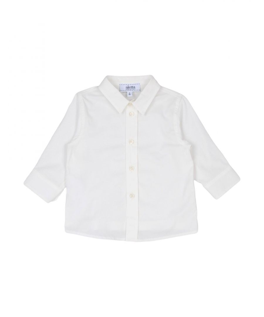 Image for SHIRTS Boy Aletta Ivory Cotton