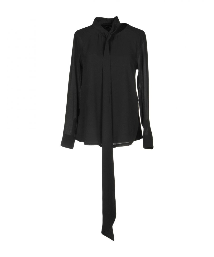 Image for Alpha Studio Black Long Sleeve Blouse