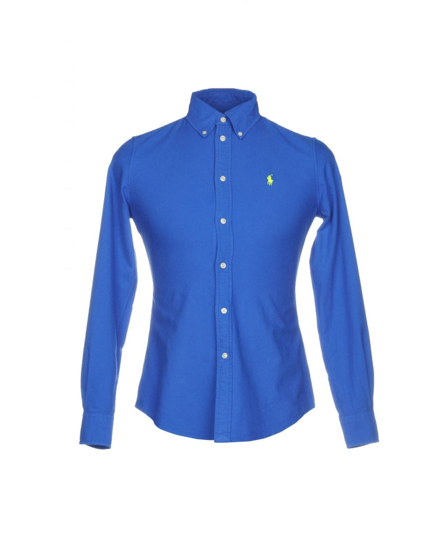 Image for Polo Ralph Lauren Blue Cotton Shirt