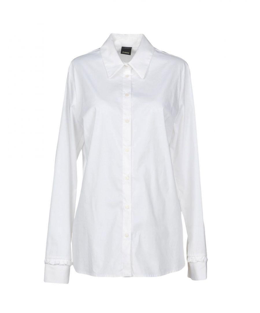 Image for Pinko Woman Shirts White Cotton