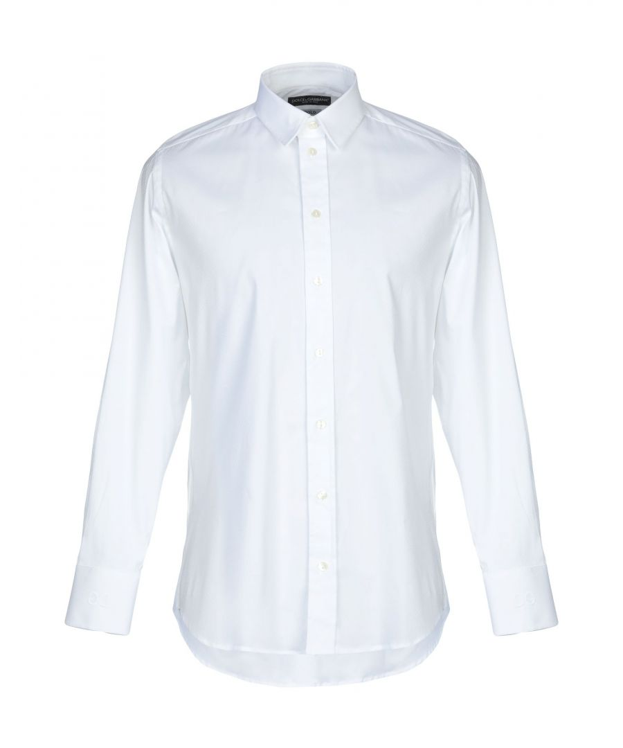 Image for Dolce & Gabbana White Cotton Shirt