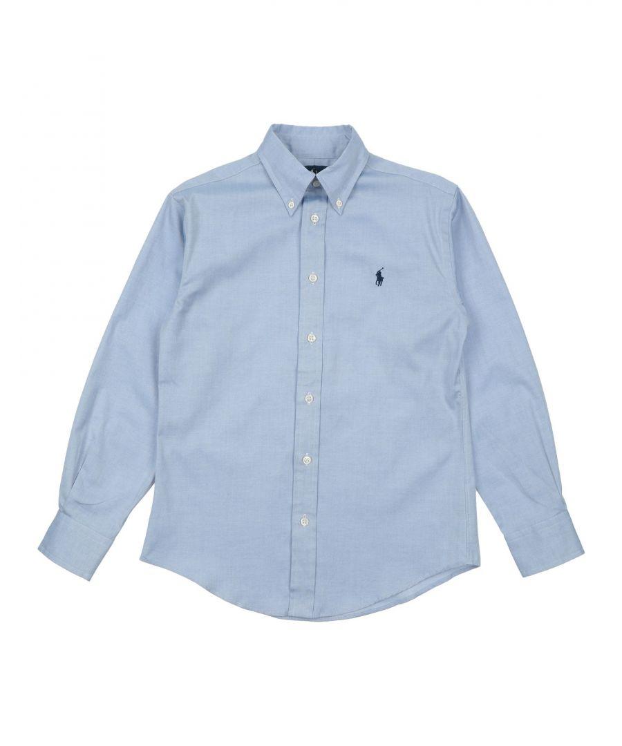 Image for SHIRTS Boy Ralph Lauren Azure Cotton