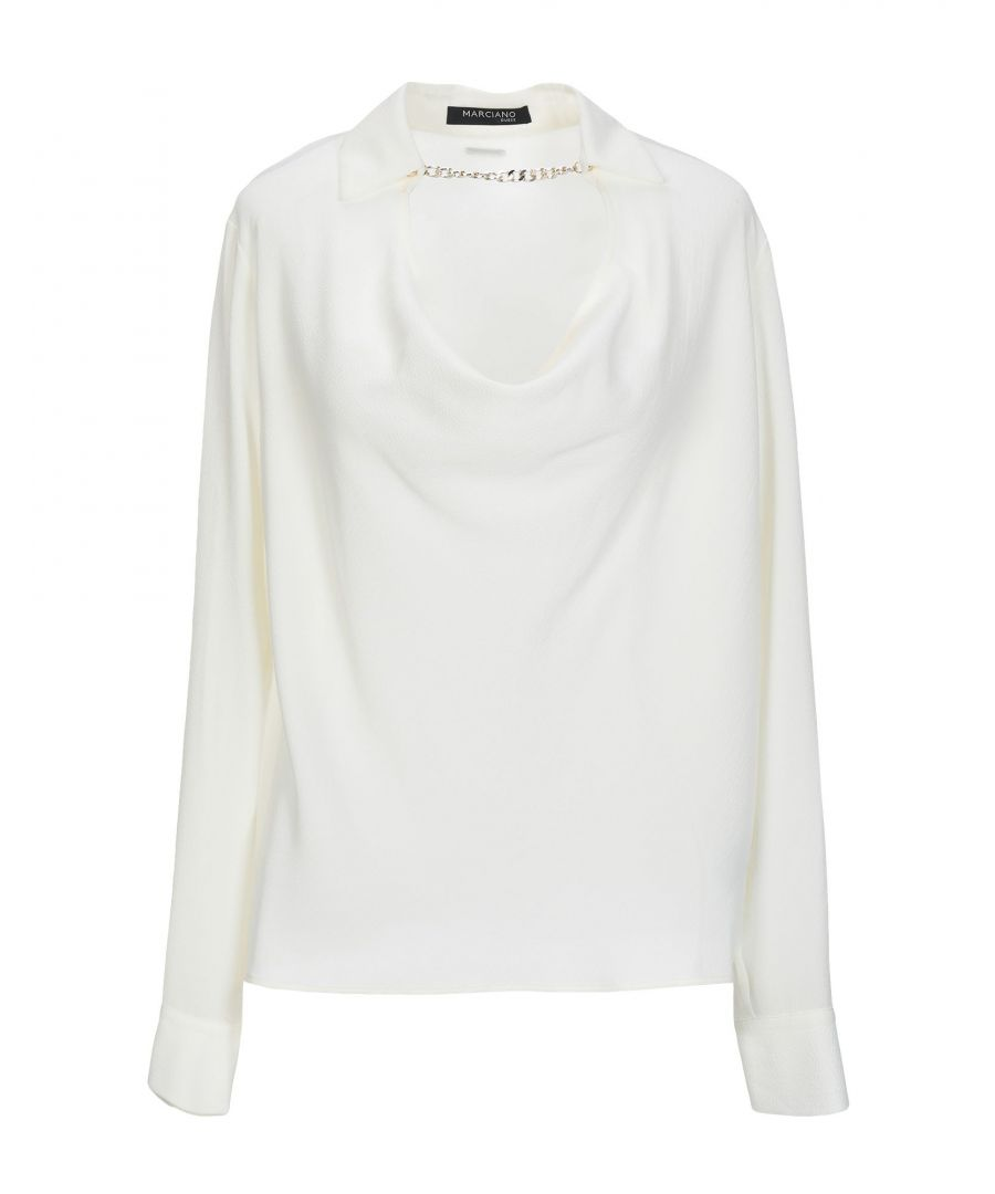 Image for Marciano Ivory Crepe Blouse