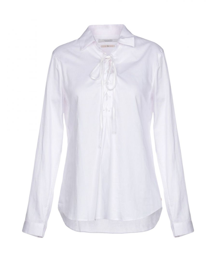 Image for Maison Scotch Light Pink Cotton Shirt