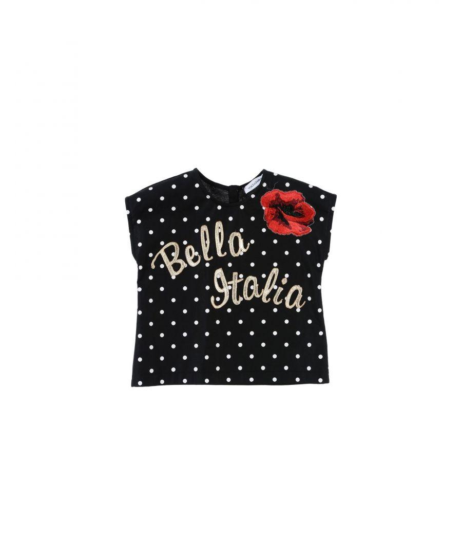 Image for SHIRTS Girl Dolce & Gabbana Black Cotton
