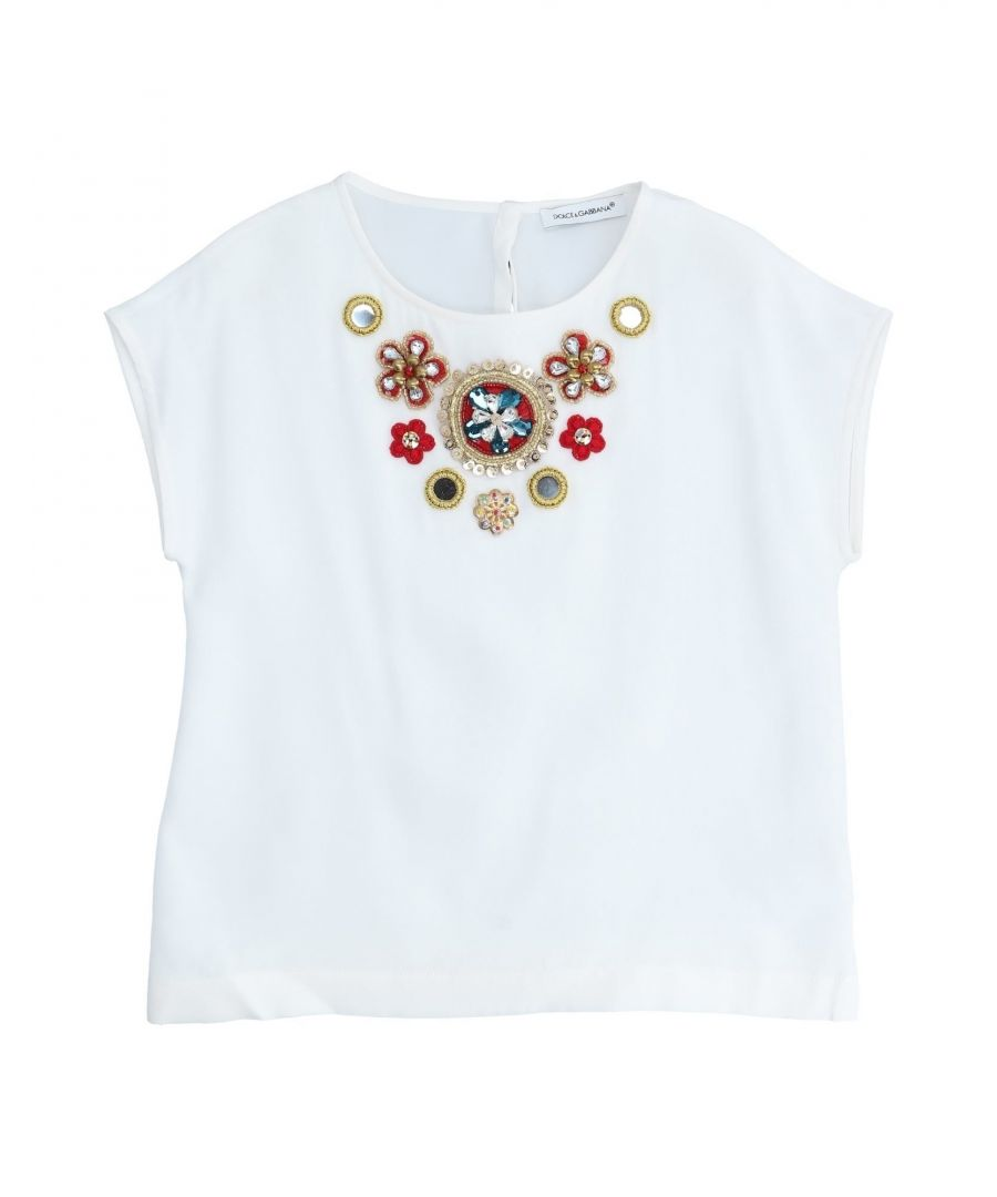 Image for SHIRTS Dolce & Gabbana White Girl Silk